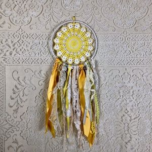 ✨HP✨ Upcycled boho wall hanging/dream catcher